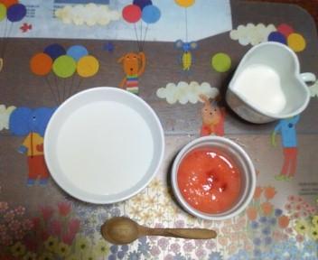 栄養剤と離乳食